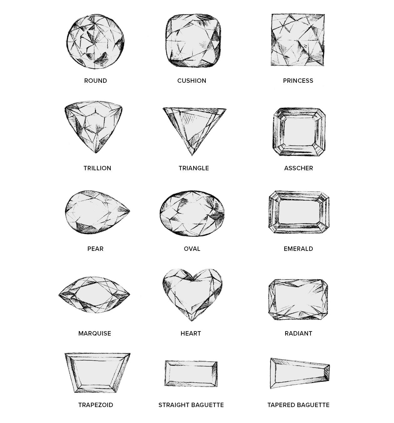 Stone Cut Shapes